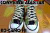コンバースのオールスター83カモ【ALLSTAR 83 CAMO HI】をやっと手に入れたのでさっそく写真レビュー